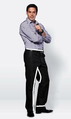 W spodniach można zwęzić i skórcić nogawki