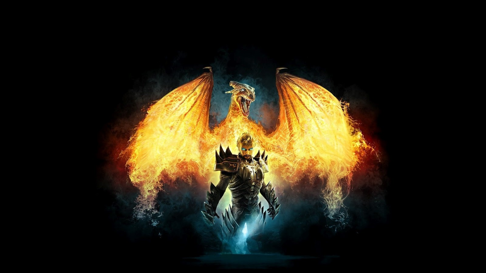 dragons on fire pictures backgrounds