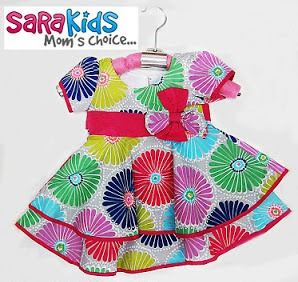 Clearance Stock : RM33 - Dress Sara Kids