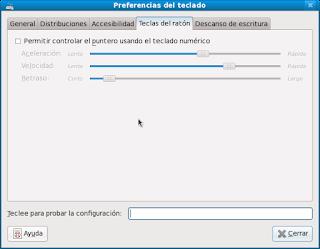 Ubuntu: Preferencias del teclado