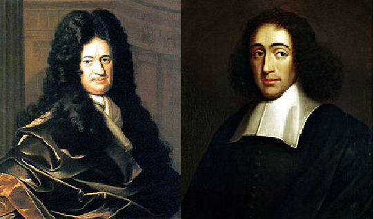philosophical approaches of descartes spinoza and leibniz Modern european philosophy: rationalism  like descartes and spinoza, leibniz believed that god created the world as a rational, mechanical apparatus.