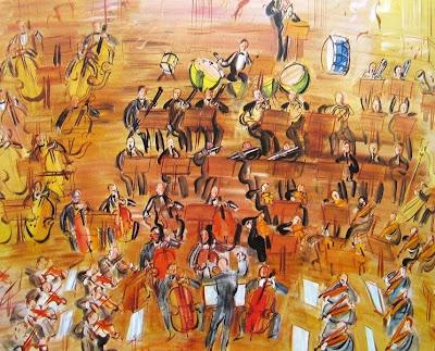 Raoul Dufy - Le grand orchestre ( 1936 )