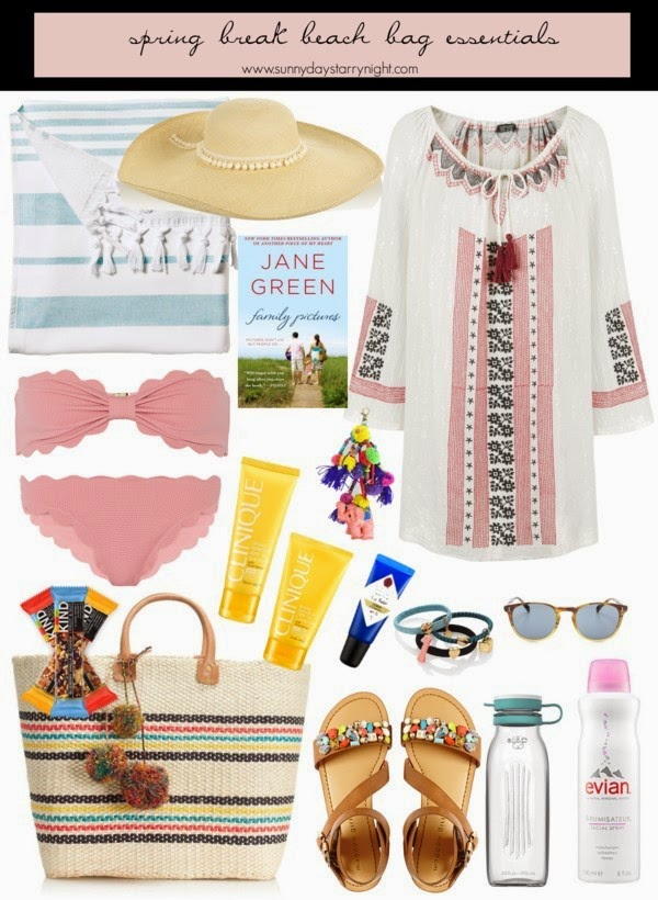 spring break beach bag essentials