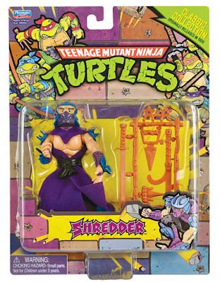 Playmates Teenage Mutant Ninja Turltles TMNT Classic Collection Shredder Figure