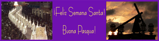¡Feliz Semana Santa! - Buona Pasqua!