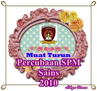 Muat turun Percubaan SPM Sains 2010
