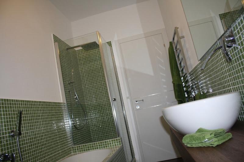 Piastrelle bagno verdi fabulous bagno realizzato con piastrelle