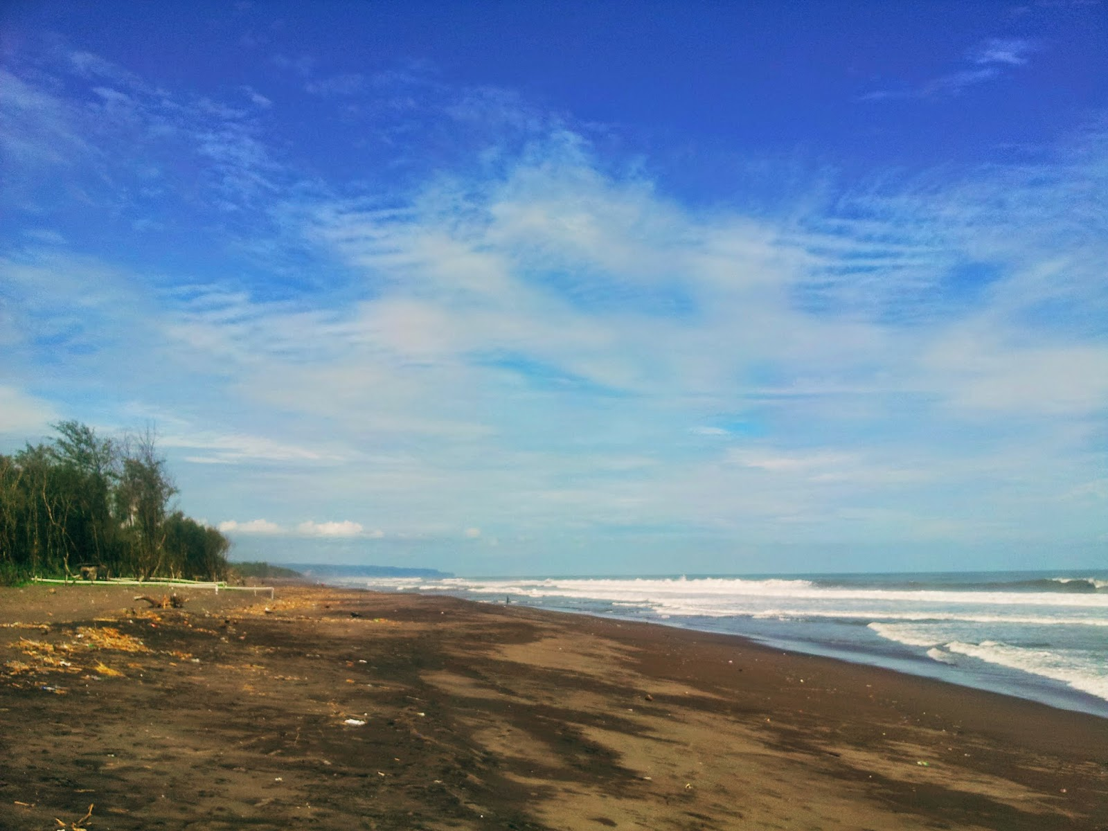 Kwaru beach in Jogja