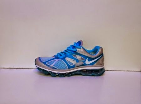 Nike Air Max Fitsole 2 Men silver biru,Nike murah,nike running,nike import