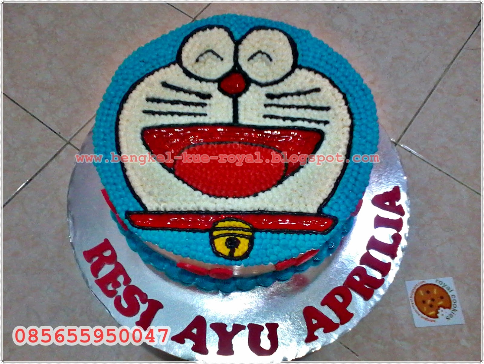 ROYAL COOKIES JEMBER: Doraemon Birthday Cake - mb Echy Jember
