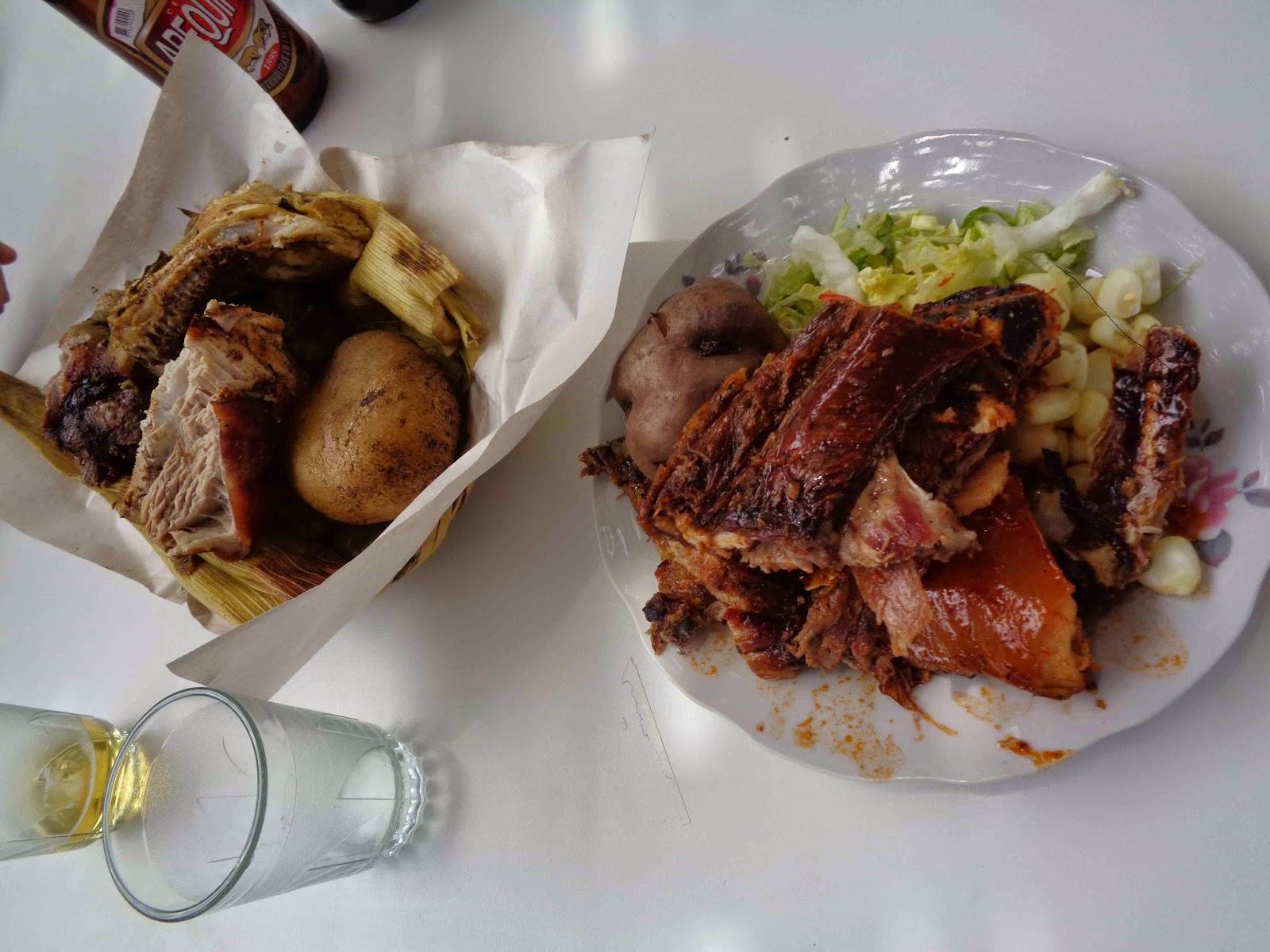 Arequipa Pachamanca Food