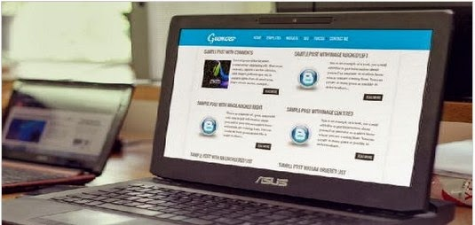 Geemozo Responsive blogger template free download