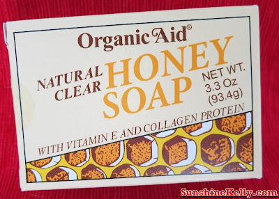 Organic Aid Skincare Review, Organic Aid Skincare, Organic Aid, Organic Aid Natural Clear Honey Soap, organic skincare review, organic skincare, organic product, skincare, beauty
