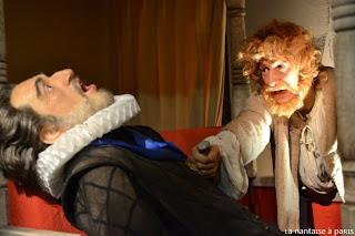 Musée Grévin • Assassinat d'HenriIV par Ravaillac
