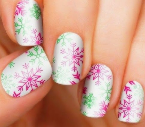 cute winter nails 2015