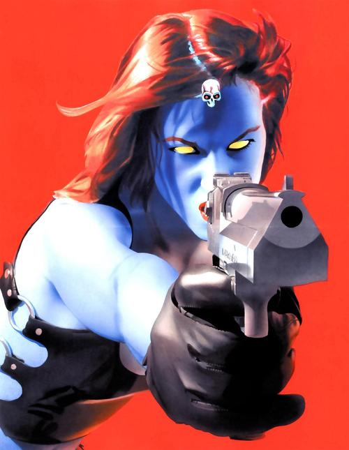 Mystique Character Review (with gun)