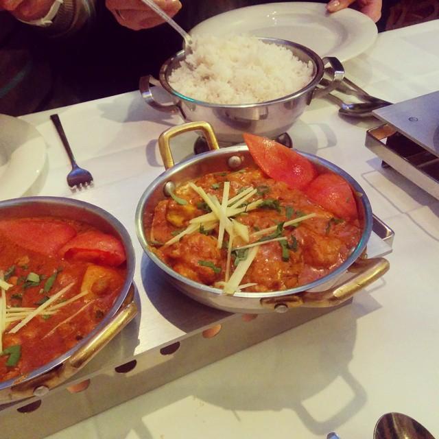 Indisches Essen im Jaipur in Karslruhe