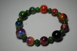 Around the World Rainbow/Green $10