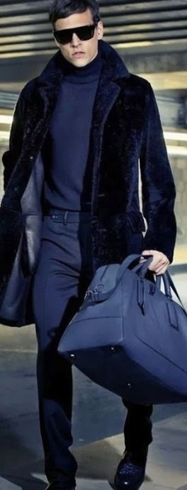 Парень в пальто