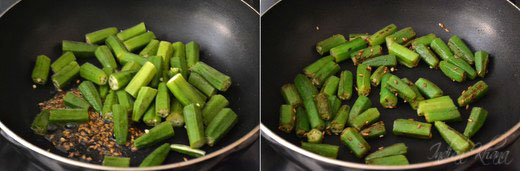Besanwali Bhindi Sabzi Okra Recipes