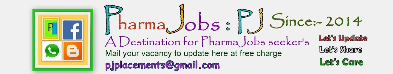 Pharma Jobs- PJ