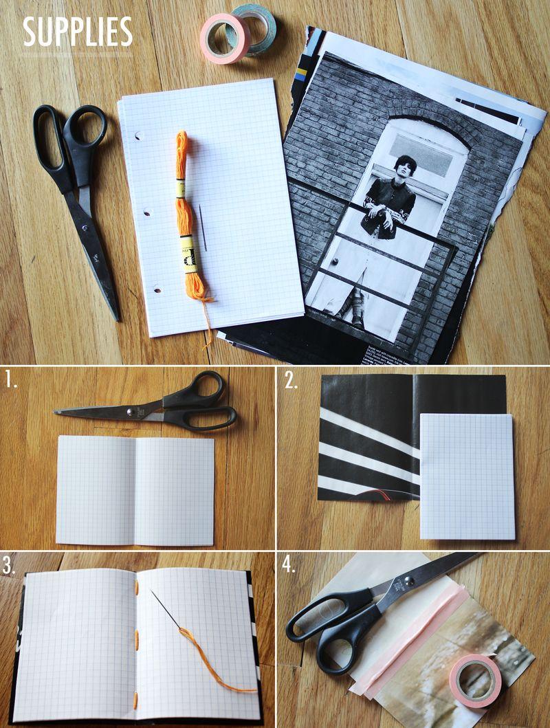 Как сделать блокнот своими руками в домашних условиях фото поэтапно