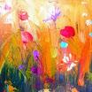 Πίνακες του Αντώνη Μαλαβάζου: Πολύχρωμα Λουλούδια Αρ. 156