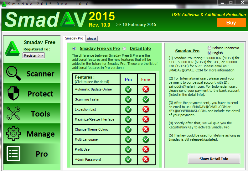 Free Download Smadav Pro 2015 v10.0 with Serial Key - IT Pagol