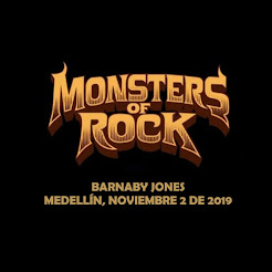 MONSTERS OF ROCK MEDELLÍN 2019