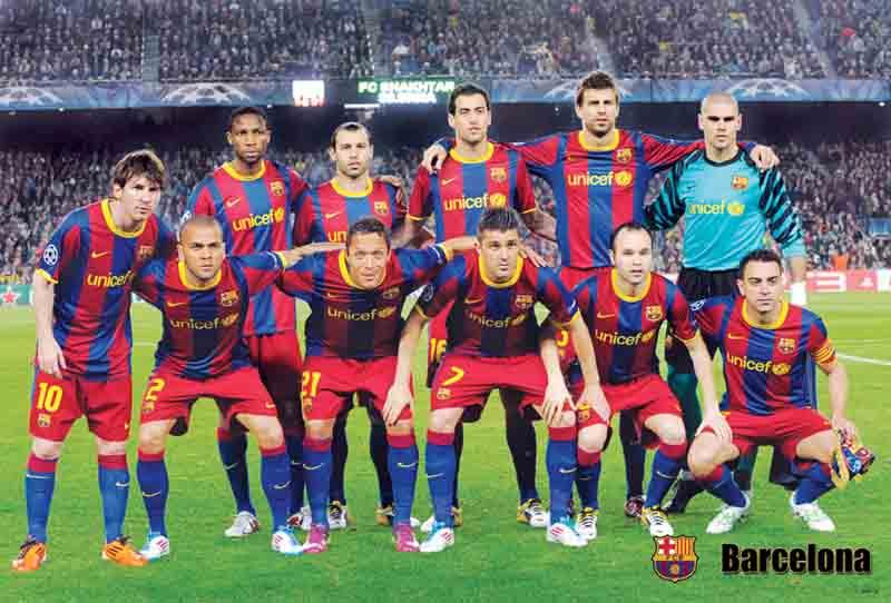 BARCELONA 2011 Poster
