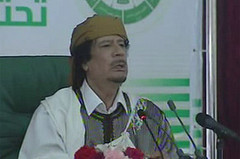 Muammar Gaddafi Addresses Libya on National Television, March 2, 2011