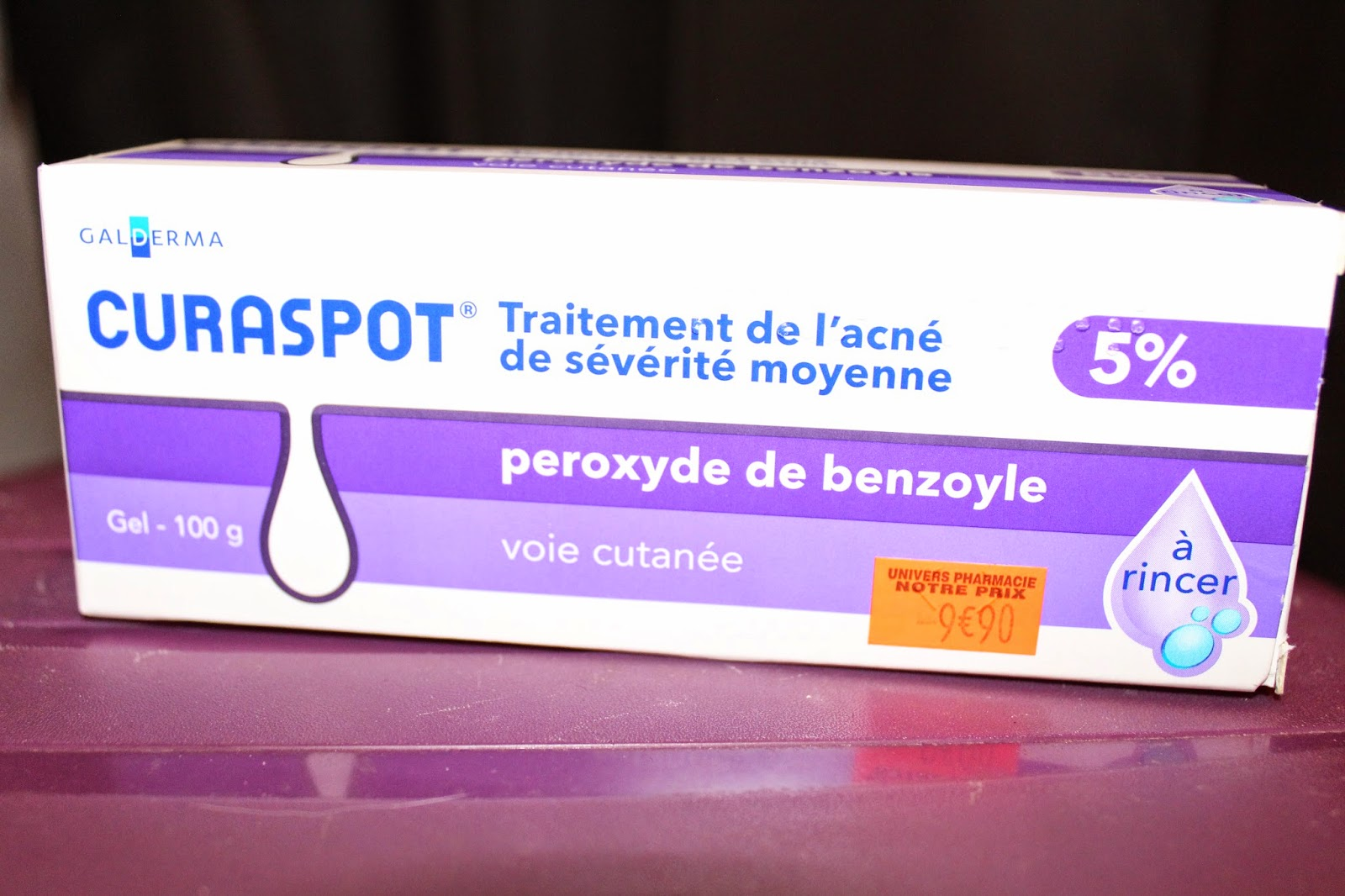 Cat-beauté: Curaspot ?? Coup marketing ou vraie miracle