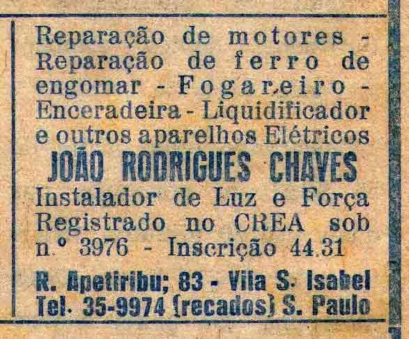 Vila Santa Isabel, história de São Paulo