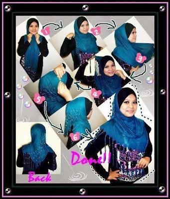 Cara cara pakai hijab
