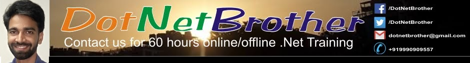DotNet Brother - .Net Online Training