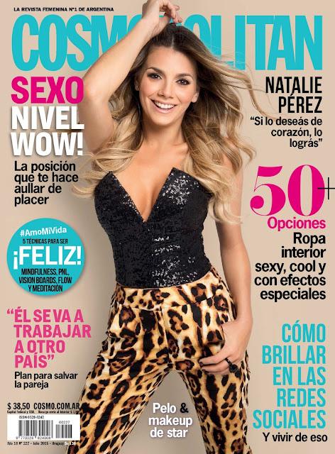 Actress, Singer @ Natalie Perez - Cosmopolitan Argentina, July 2015