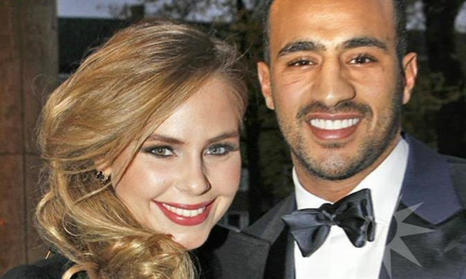 Badr Hari with charming, Girlfriend Daphne Romani