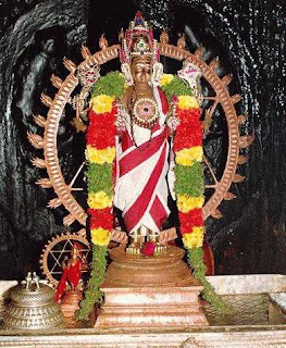 Picture of Sudarshana Chakra, the Holy Wheel and Weapon of Lord Vishnu