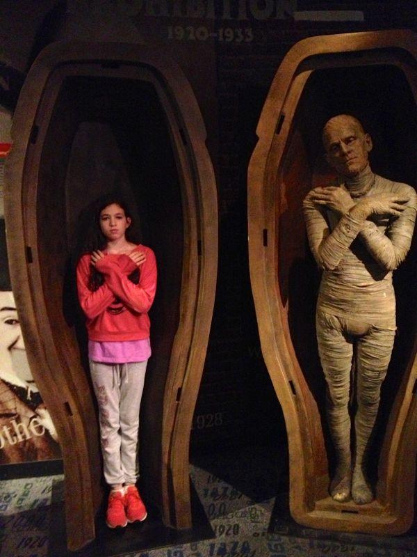 NowThisLife.com - Madame Tussauds - New York - Mummy