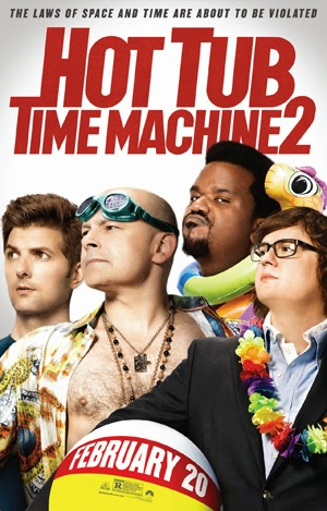 Hot Tub Time Machine 2 2015 poster
