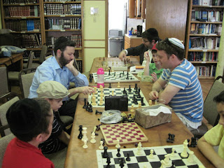 Chess and Judaism (Based on the Learning at Aliyos Yerushalayim)