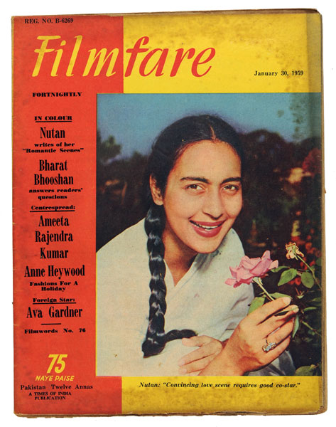 Nutan Filmfare Magazine