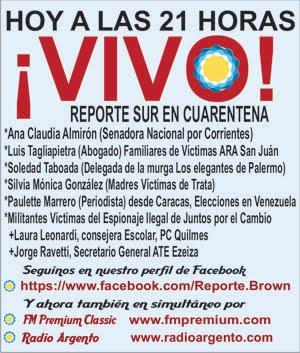 Hoy!!! El Vivo de Reporte Sur