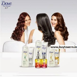 Buy Dove Products 10% off + 35% cashback, Rs. 300 cashback on Rs. 599