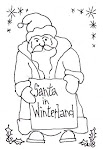 Santa in Winterland