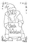 Santa in Winterland
