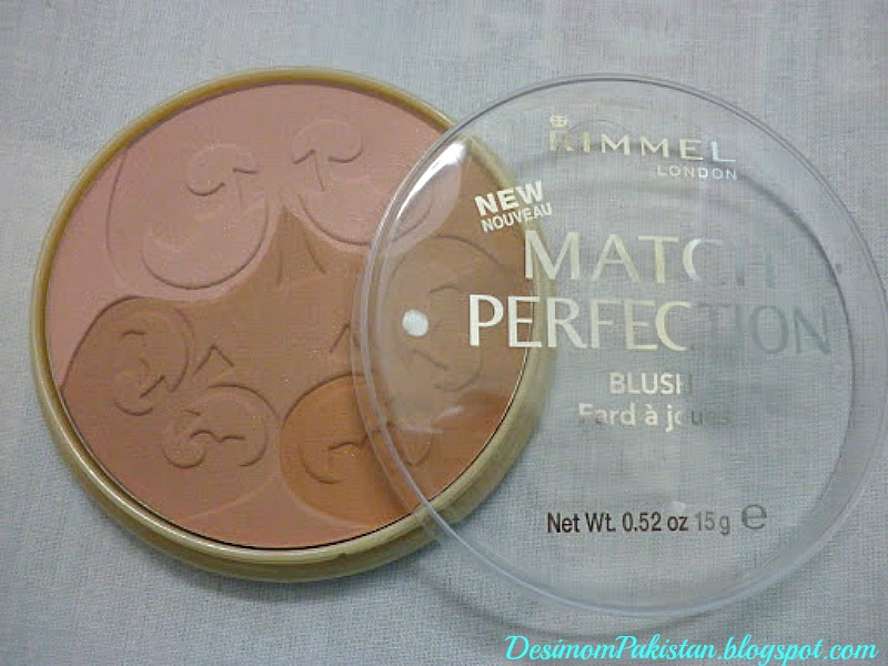RIMMEL MATCH PERFECTION BLUSHER In OO2 LIGHT/MEDIUM
