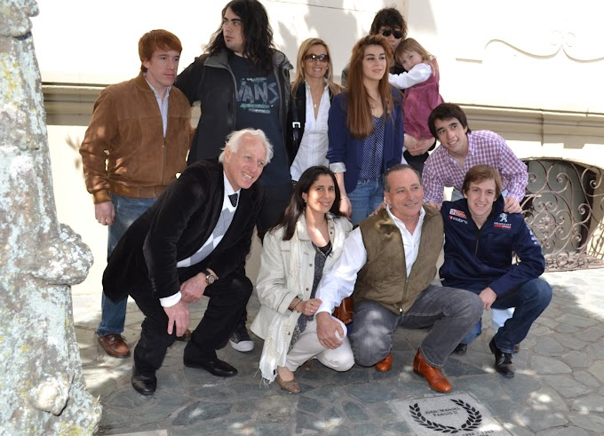 Emotivo homenaje a Juan Manuelito Fangio