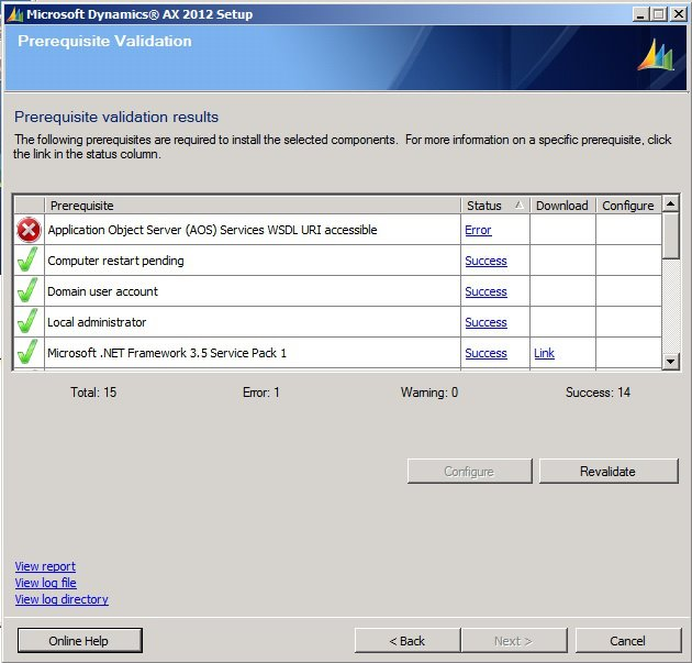 AX 2012 reporting extension Error solution