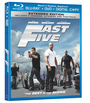 Rip Fast Five Blu-ray to Video